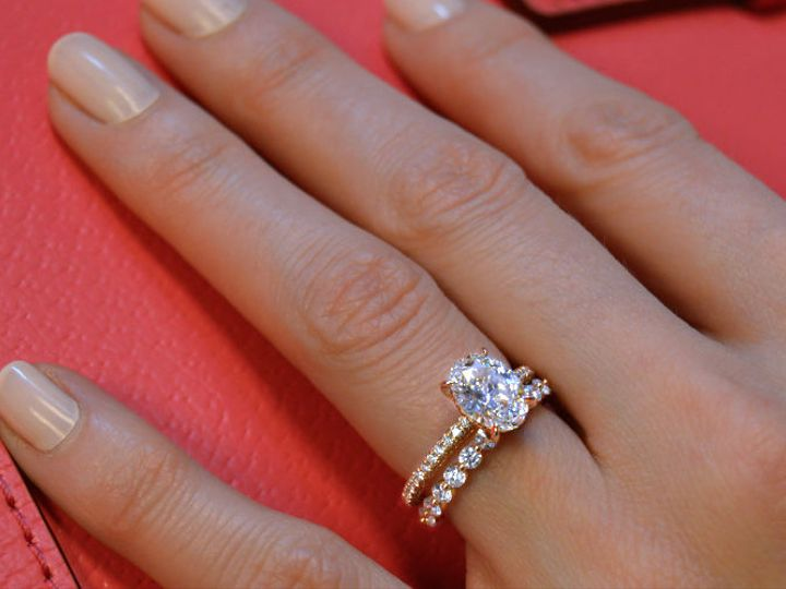 Tmx 1534451105 D620cbf49128bf8f 1534451104 D00a44505284f473 1534451104515 2 Rose Gold Diamond  Arlington wedding jewelry