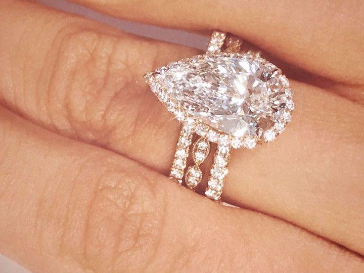 Tmx 1534451116 358345c2f2e21c41 1534451116 07a66cdce3cc4503 1534451115818 3 Rose Gold Diamond  Arlington wedding jewelry