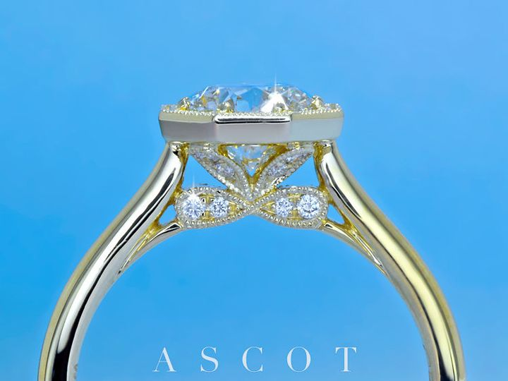 Tmx 1534451206 A04393abf5969f59 1534451205 236b107ca8da05cb 1534451204860 9 Vintage Diamond En Arlington wedding jewelry