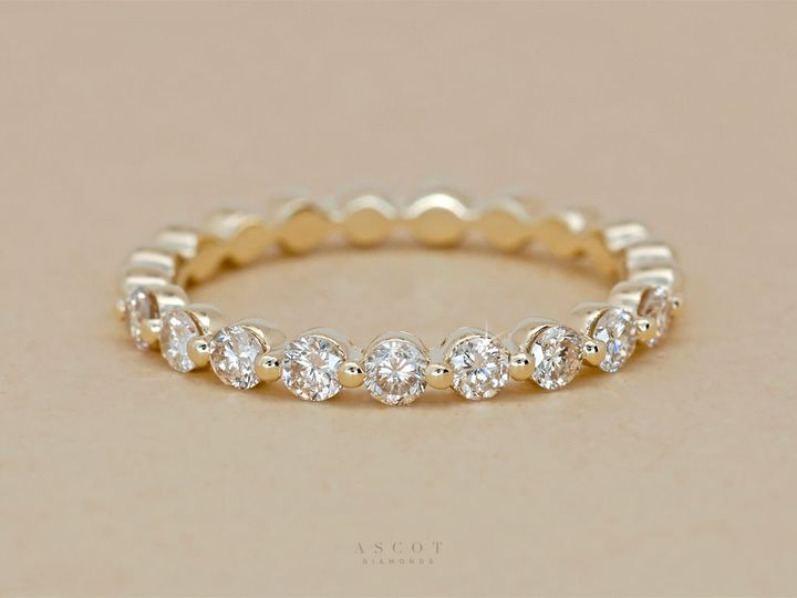Tmx 1534451240 C00f0c3e89ed3146 1534451239 4f6f85145f85b727 1534451239462 11 Yellow Gold Float Arlington wedding jewelry