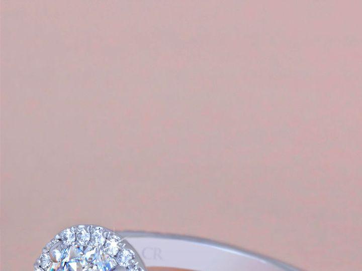 Tmx 1534451368 D684c4abfcc71ac0 1534451366 79563a1c88376e4e 1534451365927 21 Custom Oval Halo  Arlington wedding jewelry