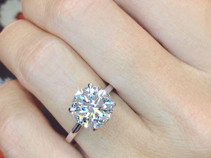 Tmx 3 Carat Round Cut Diamond Solitaire Engagement Ring In Platinum By Ascot Diamonds 51 24719 159776047620260 Arlington wedding jewelry