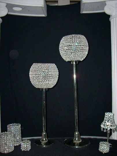 Crystal Ball Stands 29 & 39"