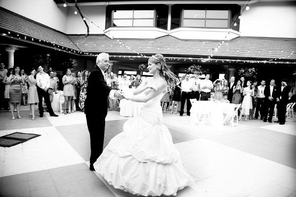 Father & daughter dancing