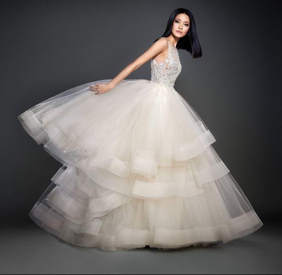 lazaro bridal spring 2017 style 37087