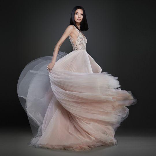 lazaro bridal spring 2017 style 37129