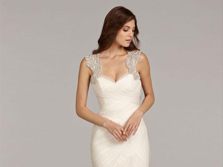 Tmx 1405024668550 Ameryn Front Plano wedding dress