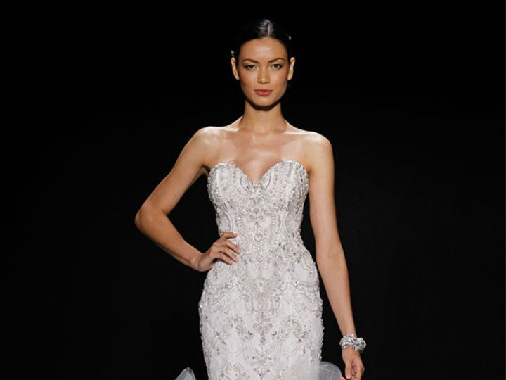 Tmx 1405024777448 Lazaro Bridal Beaded Embroidered  3400x3 Plano wedding dress