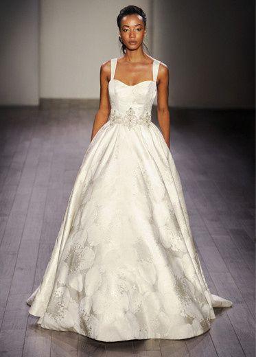 Tmx 1458855295746 Alvina Valenta Bridal Marbled Jacquard Ball Gown P Plano wedding dress