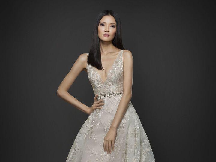 Tmx 1498629049440 Lazaro Bridal Fall 2017 Style 37593 Plano wedding dress