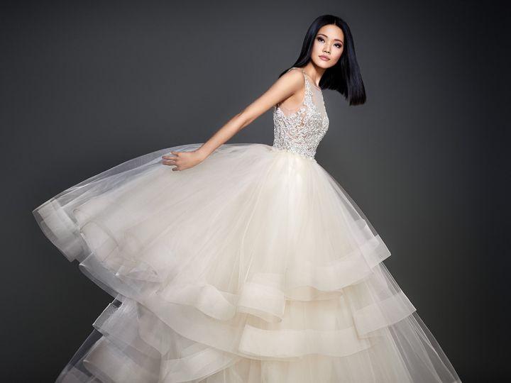 Tmx 1498629060368 Lazaro Bridal Spring 2017 Style 37087 Plano wedding dress