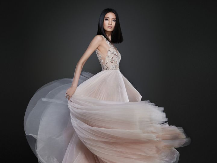 Tmx 1498629092161 Lazaro Bridal Spring 2017 Style 37129 Plano wedding dress