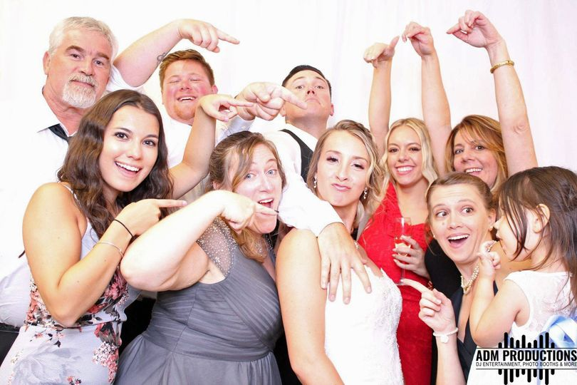 Fun wedding photo booths