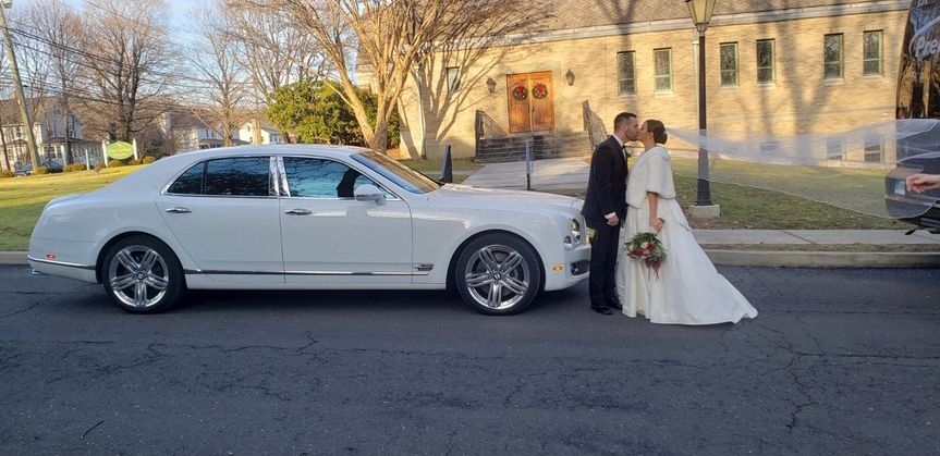 Bentley Just married