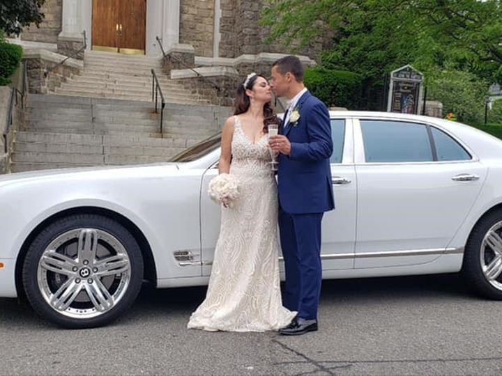 Tmx Bentley At Church 51 106719 1571320157 Yonkers, NY wedding transportation
