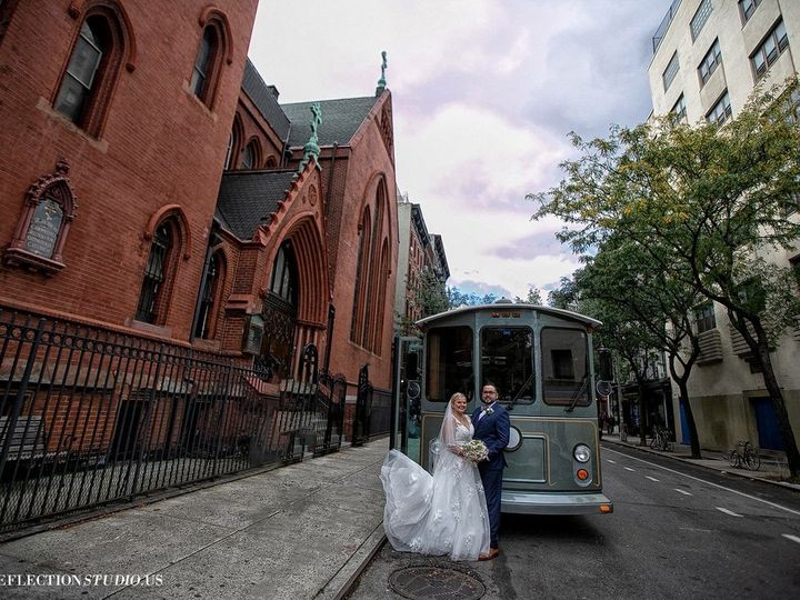 Tmx Gray Trolley 1 51 106719 V1 Yonkers, NY wedding transportation