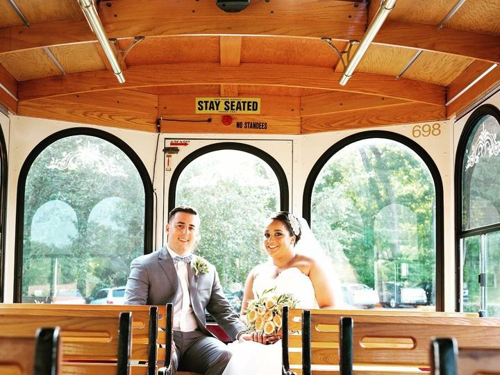 Tmx Gray Trolley 3 51 106719 V1 Yonkers, NY wedding transportation