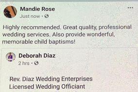 Rev Diaz Wedding Enterprises