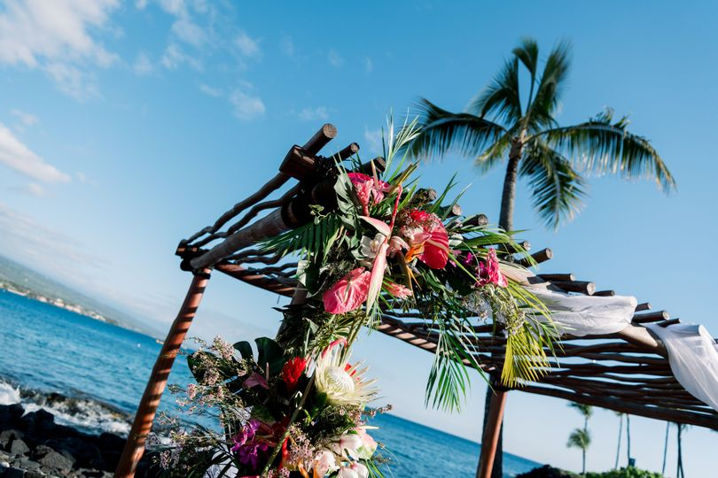 Beautiful Oceanfront Ceremonie