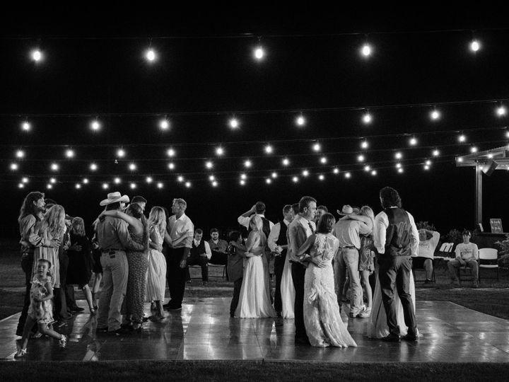 Tmx Black White Photo Bistro Lights With Rented Dance Floor 24 X 24 51 1897719 160748381651758 Ferris, TX wedding venue