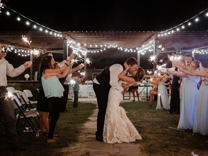 Tmx Send Off Jase Katie Kiss 51 1897719 160748381667507 Ferris, TX wedding venue