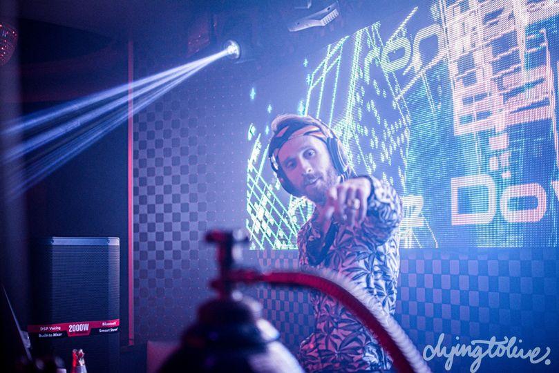Joey Farese at Blush Nightclub
