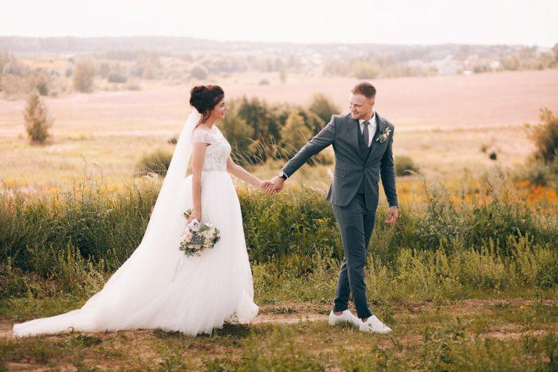 Simple Romantic Wedding