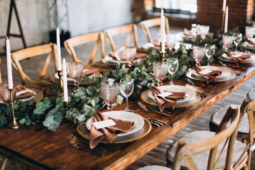 Romantic Boho Table Décor