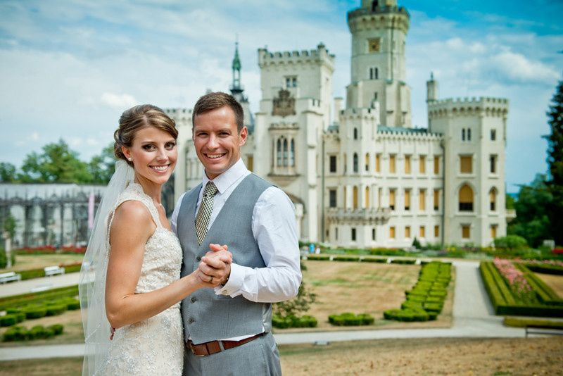 Wedding in Hluboka Castle in the Czech Republic