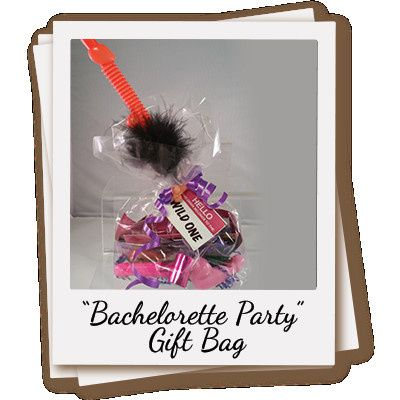The Bachelorette Party Favor contains:  1 Penis Straw 1 Penis Blower 1 Penis Whistle 1 Gummy Penis...