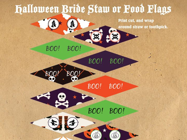 Tmx 1476334662784 Halloween Flag Topper Web1000 Blackwood wedding favor