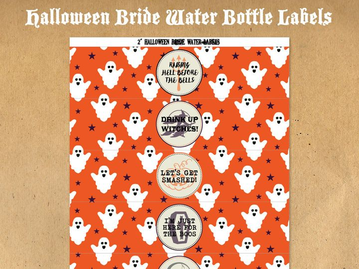 Tmx 1476334833784 Halloweenbridewaterbottlelabels21000 Blackwood wedding favor