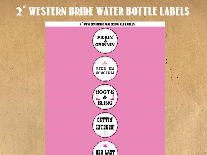Tmx 1476335439809 Westernbridewaterbottlelabelsltpink Blackwood wedding favor
