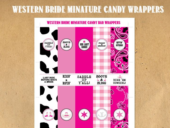 Tmx 1476344159822 Westernbrideminiaturewraps Blackwood wedding favor