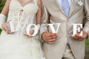 bride groom love photo