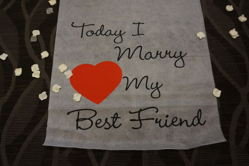 Today I Marry My Best Friend