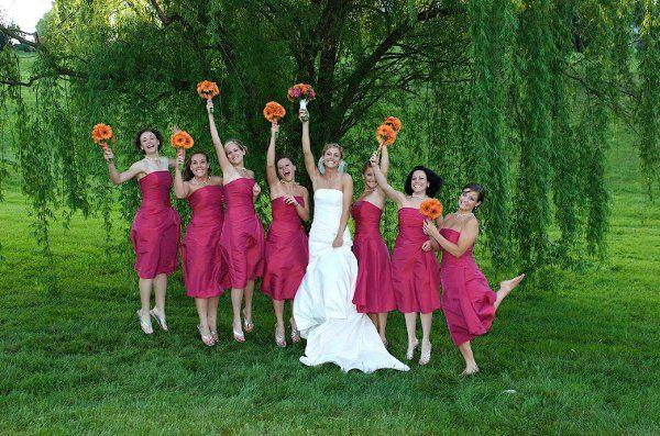 Bridesmaidsjumping