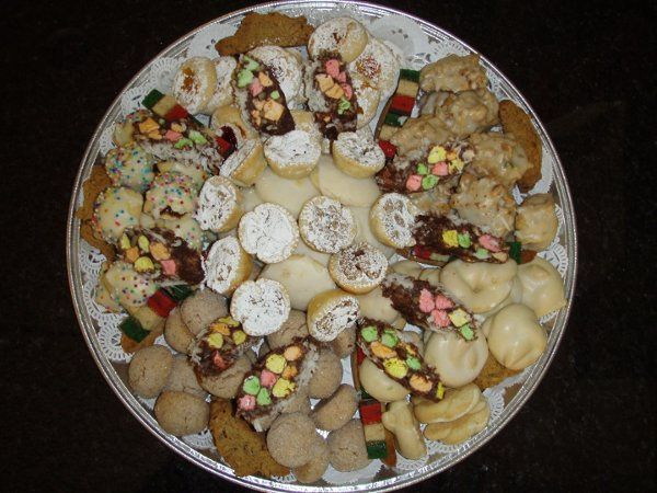 "Our Signature Cookie Tray comes in 3 Sizes 12"", 16"", 18"".This cookie tray is part of our sweet's..."