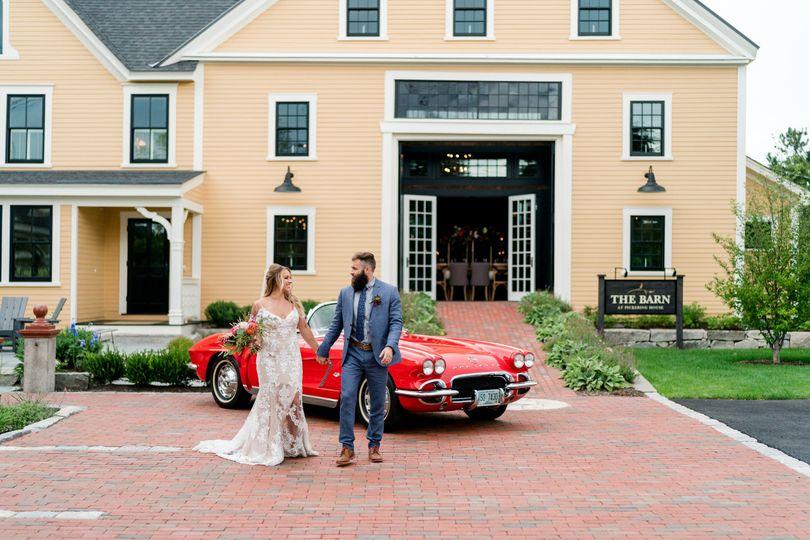 Luxury wedding barn