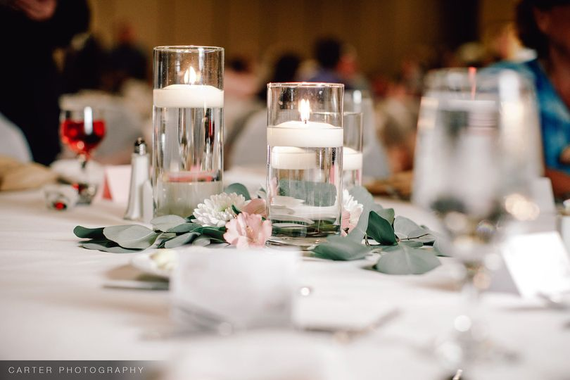 Table candlelight