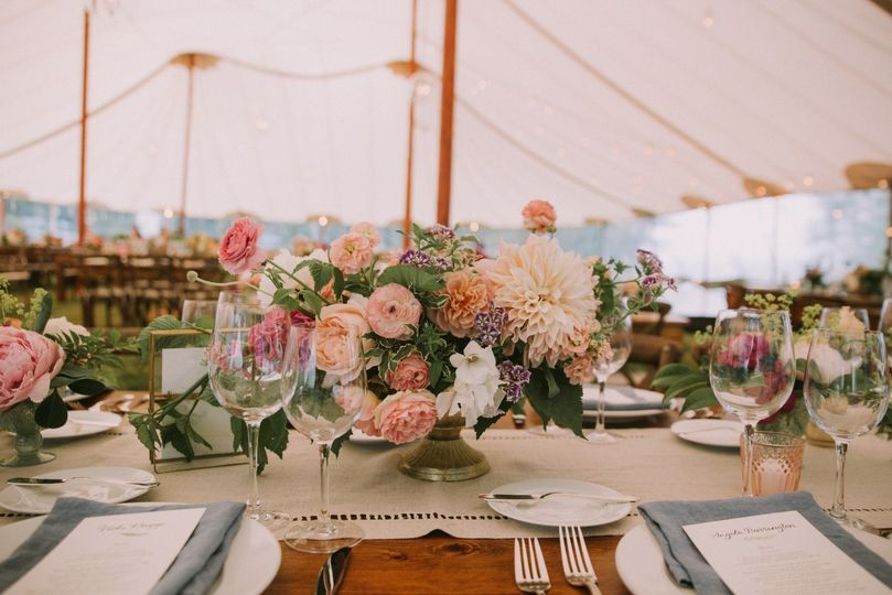 Tent Placesetting