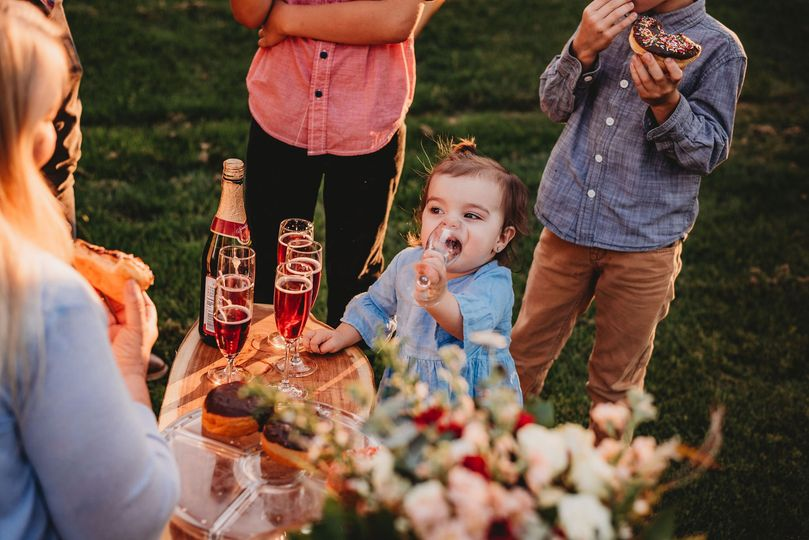 Simple celebration