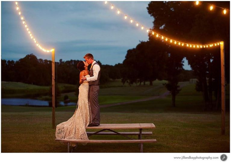 Memorable moments under the fairy lights
