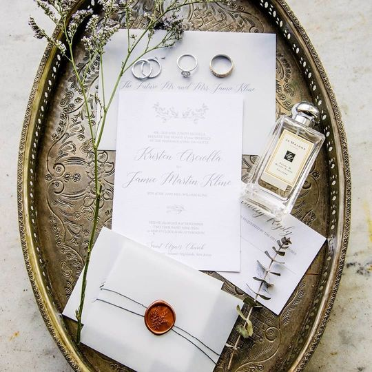 Classic with Vellum & Wax Seal