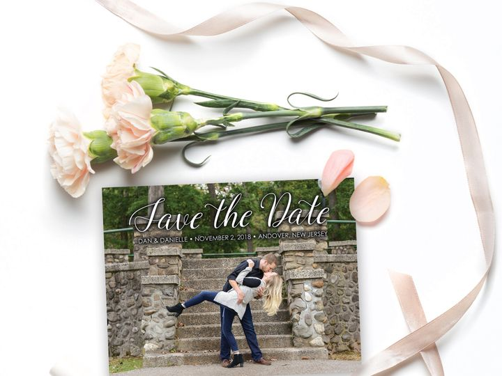 Tmx 1522263483 Bd8046b3bd6eaca2 1522263481 A81cacc4345f21df 1522263480665 3 Campbell SavetheDa Andover, NJ wedding invitation