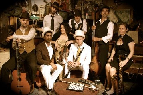8 Piece Electro Swing Band Ref: ELS 1926  This Electro Swing dance band collides vintage 30's and...