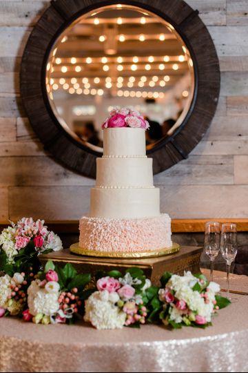 Cake display