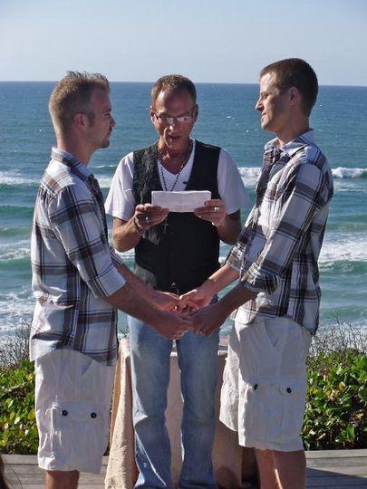 Specialist is LGBT weddings!