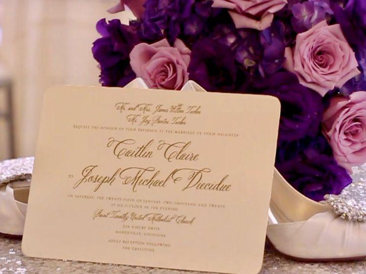 Tmx Caitlin Joseph Diecidue Thumbnail 51 1987819 159969085883719 New Orleans, LA wedding videography