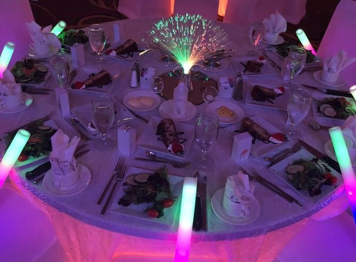 Themed table displays